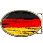 Germany Grunge German Flag Belt Buckle. Code A0027
